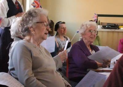 Tea dance singalong, WWII project