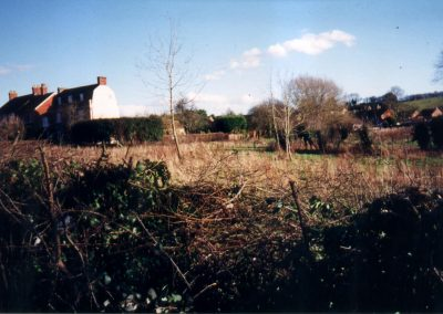 The Manse and site of Lansdown Close 2000
