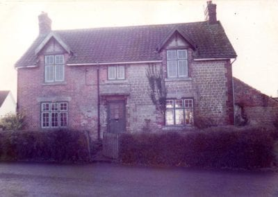 Cottage in St Mary's Lane before renovation in 1983