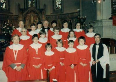 Holy Trinity Church choir 1980s