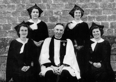 Holy Trinity Church choir and Vicar Rev Stephen Fussell