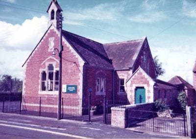 Infants School before it closed in 1988